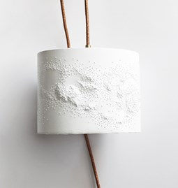 Portable lamp Scaled - white