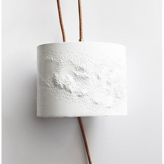 Baladeuse écaillée - blanche - Design : Anne-Charlotte Saliba