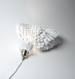 Lampe boa - blanche