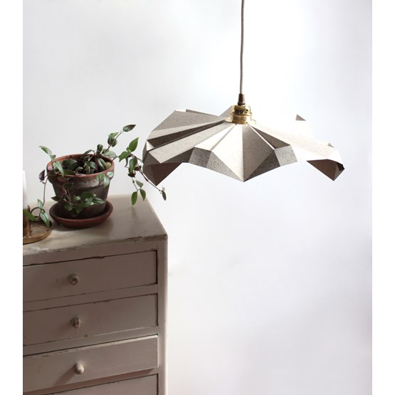 Small flying suspension - cocoa - Design : Anne-Charlotte Saliba