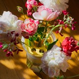 Half vase mimo - model 2 - yellow 6