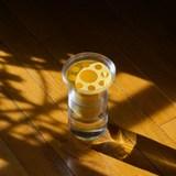Half vase mimo - model 2 - yellow 4