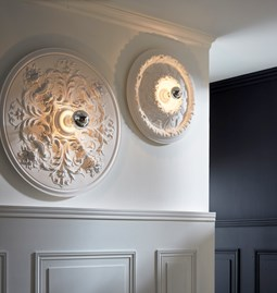 Rivoli lighting - Parisian plaster