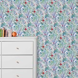 Wallpaper Jazz - blue 3