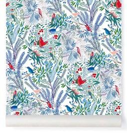 Wallpaper Jazz - bleu