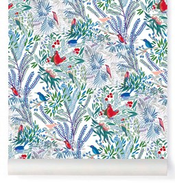Wallpaper Jazz - blue