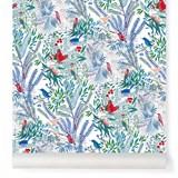 Wallpaper Jazz - blue 2