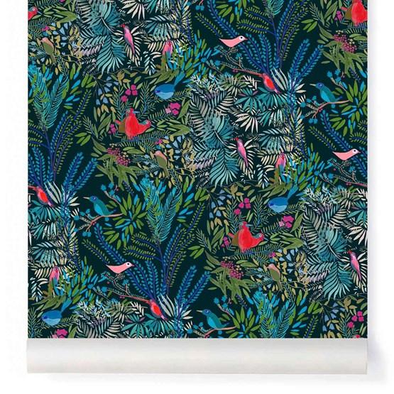 Wallpaper Jazz - night - Design : Little Cabari