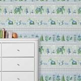 Wallpaper Chalana - emerald 4