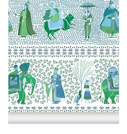 Wallpaper Chalana - emerald