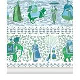 Wallpaper Chalana - emerald 2