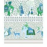 Wallpaper Chalana - emerald 3