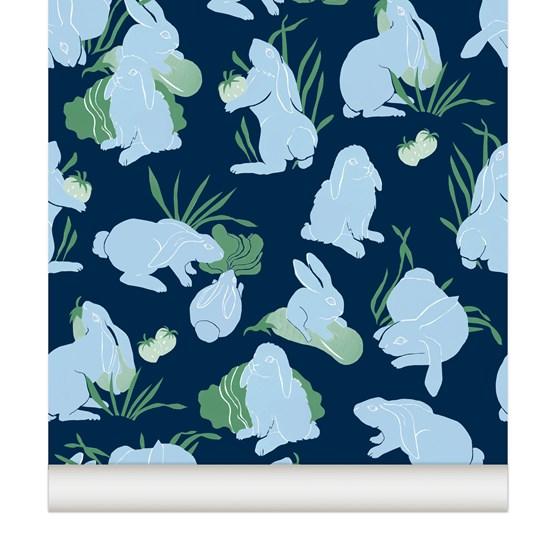 Wallpaper Haru - redcurrant - Design : Little Cabari