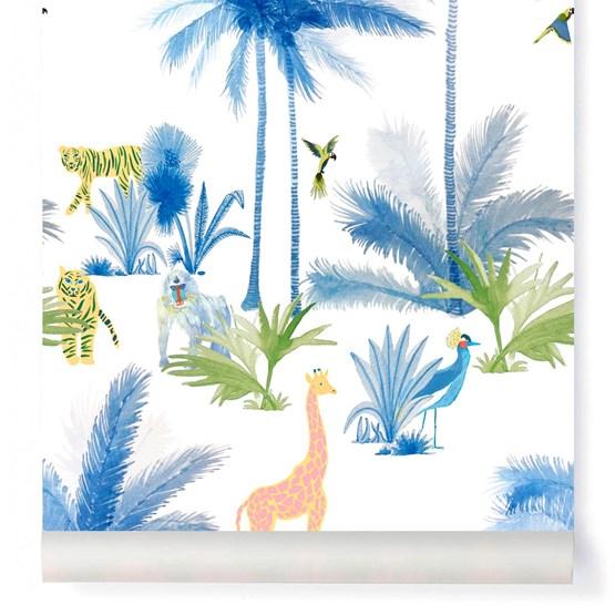 Wallpaper Grand Tamtam - Amandine - Design : Little Cabari