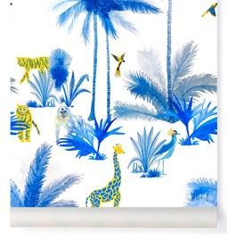 Papier-peint Grand Tamtam - Bleu