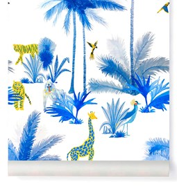 Wallpaper Grand Tamtam - Blue