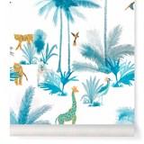 Wallpaper Grand Tamtam - Turquoise 2