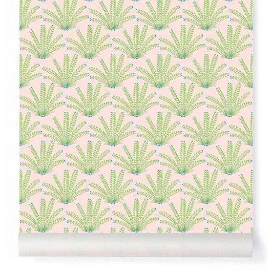 Wallpaper Maracas - Powdered - Design : Little Cabari
