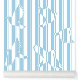 Papier-peint Polka - ciel