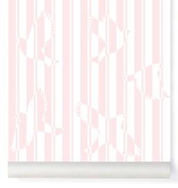 Wallpaper Polka - pink