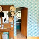 Wallpaper Songe - blue 3