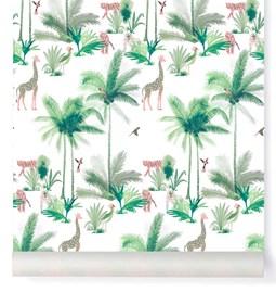 Wallpaper Tamtam - pink