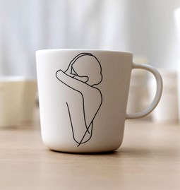 Mug ENLACE porcelaine