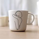 """Mug """"ENLACE"""" - couple enlacé 2"""