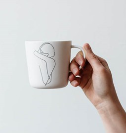 "Mug ""ENLACE"" - couple enlacé"