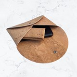 Pouch wallet - cork  3