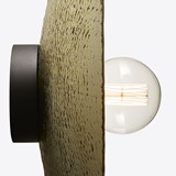 Wall lamps ZENITH NEBBIA - hammered glass 4