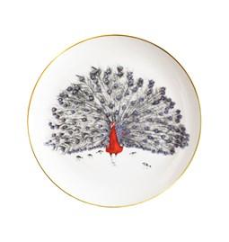 Plate Patrick Peacock