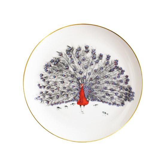 Assiette Patrick le Paon  - Design : Susannah Weiland Collections