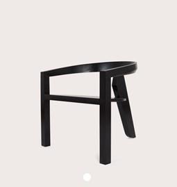 ICON lounge | frêne laqué noir