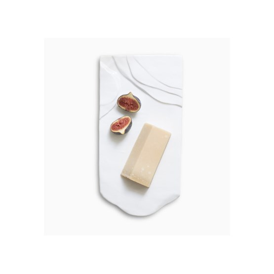 CHEESESCAPE ceramic plate - Designerbox X AD magazine - Design : Marion Mailander