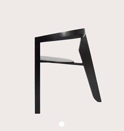 Chaise ICON | frêne laqué noir