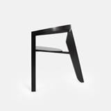 ICON dining chair | ash lacquered black 2