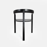 ICON dining chair | ash lacquered black 4