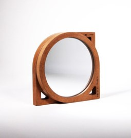 THE HIDDEN FACE OF THE MIRROR - wood