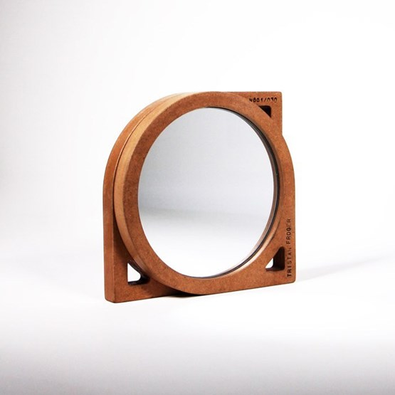 THE HIDDEN FACE OF THE MIRROR - wood - Design : the designer trotter