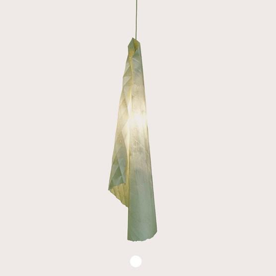 Suspension ALBATROS - white silicone - Design : MU