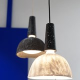 Hanging lighting FALAISE - white silicone 3