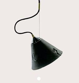 Suspension BURO - silicone noir