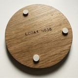 ENTRE AMIS coaster - wood and BLUE 5