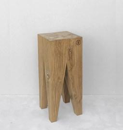 Tabouret de bar LES COULEURS DE L'AUTOMNE - bois chêne naturel