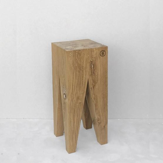 Tabouret de bar LES COULEURS DE L'AUTOMNE - bois chêne naturel - Design : the designer trotter