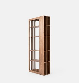 RULE bookcase | walnut