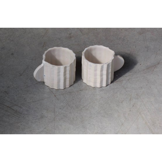 Duo espresso cups La Montagne - Design : La gadoue Atelier