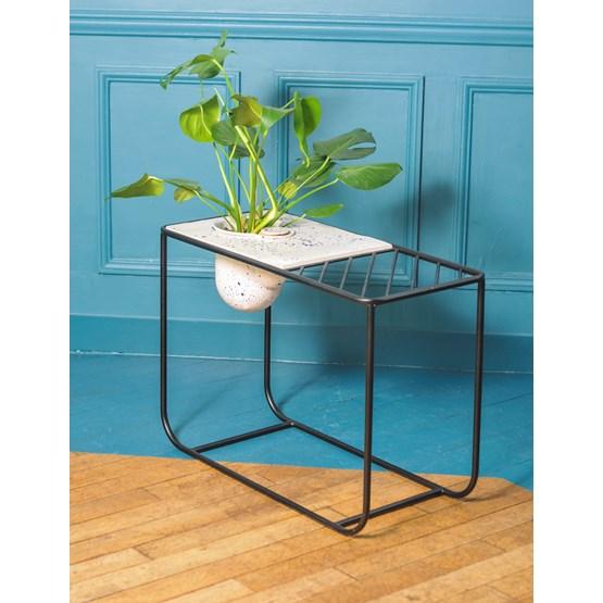Side table Rousseau - black - Design : Niobé