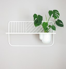 Wall shelf Rousseau - white